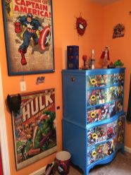 Awesome Superhero Themed Room Design Ideas 14