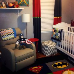 Awesome Superhero Themed Room Design Ideas 17