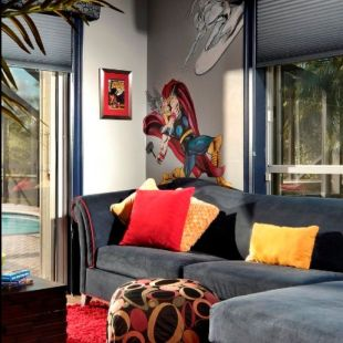 Awesome Superhero Themed Room Design Ideas 2