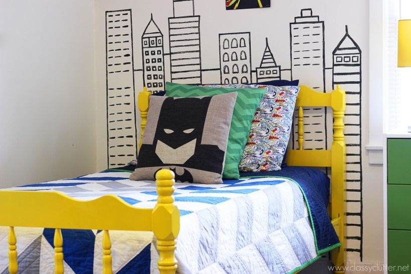 Awesome Superhero Themed Room Design Ideas 25