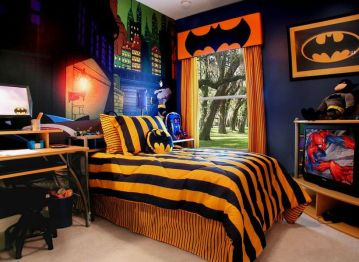 Awesome Superhero Themed Room Design Ideas 28