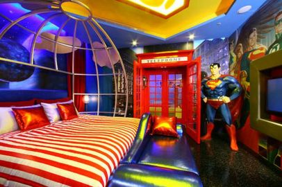 Awesome Superhero Themed Room Design Ideas 38