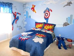 Awesome Superhero Themed Room Design Ideas 51