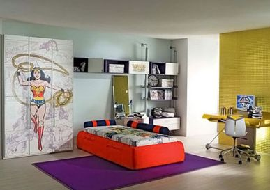 Awesome Superhero Themed Room Design Ideas 53