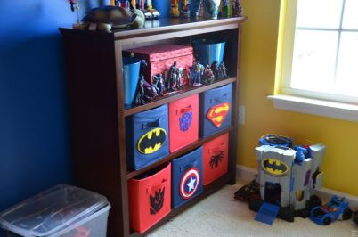Awesome Superhero Themed Room Design Ideas 9