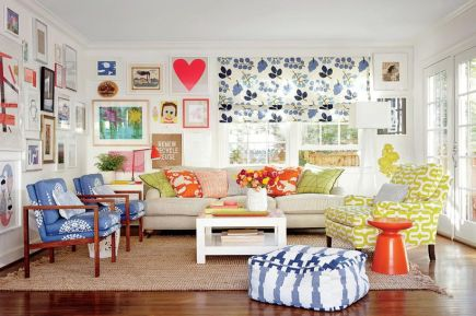 Cool Family Friendly Living Rooms Design Ideas 7