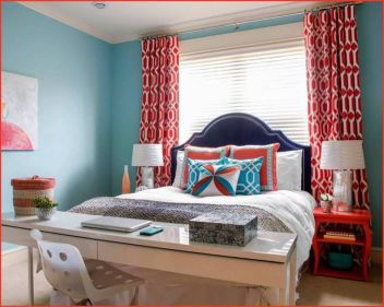 Cozy And Cool Bedroom Curtain Decoration Ideas 2