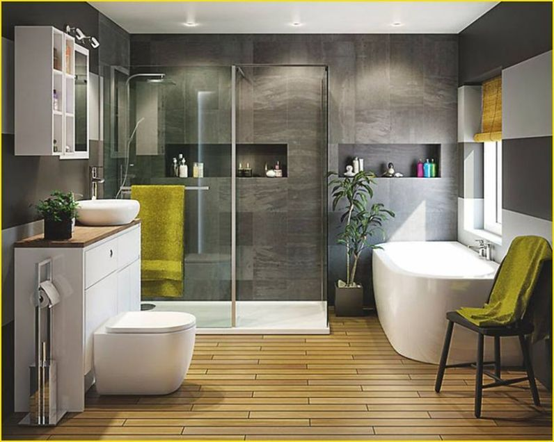Cozy Wooden Bathroom Designs Ideas 20