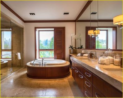 Cozy Wooden Bathroom Designs Ideas 4