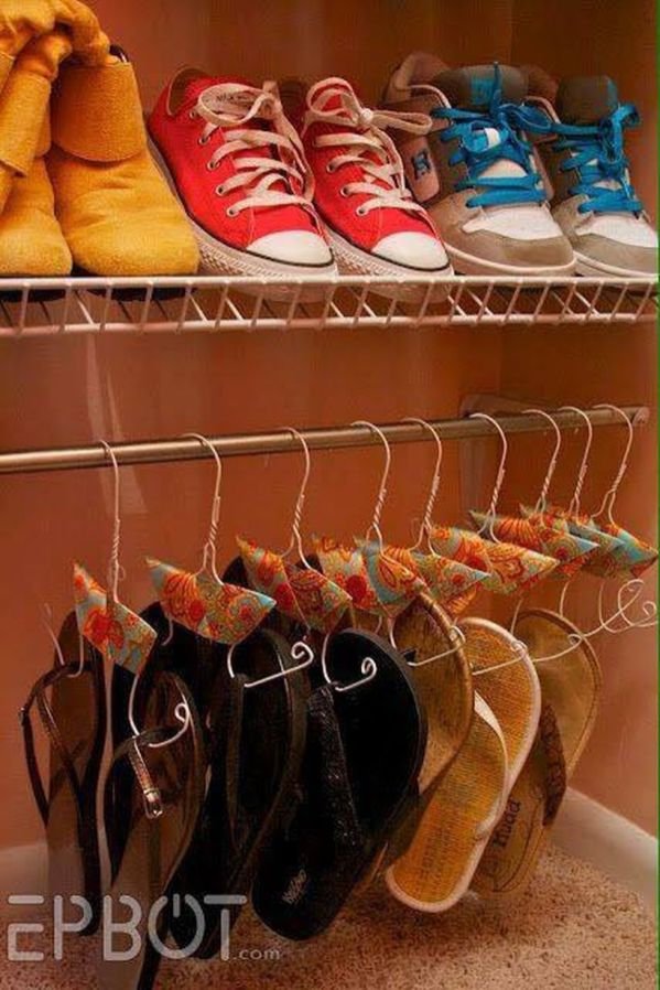 Creative Ideas To Organize Shoes In Your Home 19