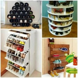 Creative Ideas To Organize Shoes In Your Home 22