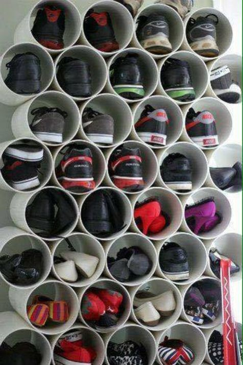 Creative Ideas To Organize Shoes In Your Home 33