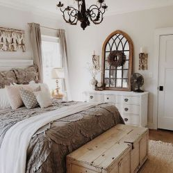 Romantic Dream Master Bedroom Design Ideas 54