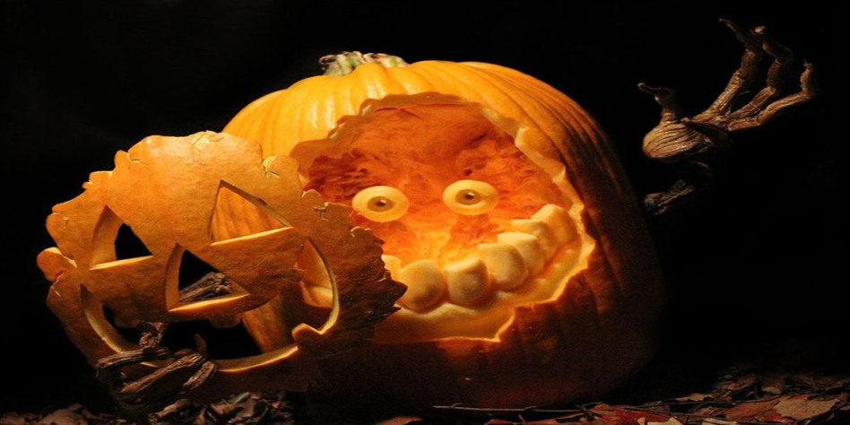 Creative Pumpkin Carvings Design