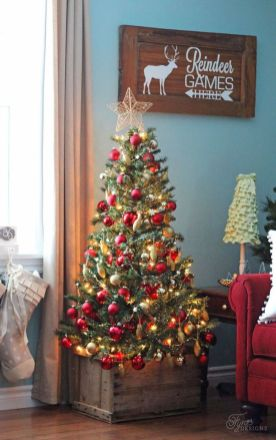 Gorgeous Chirstmas Tree Decorations Ideas 2019 14