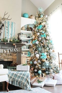 Gorgeous Chirstmas Tree Decorations Ideas 2019 18