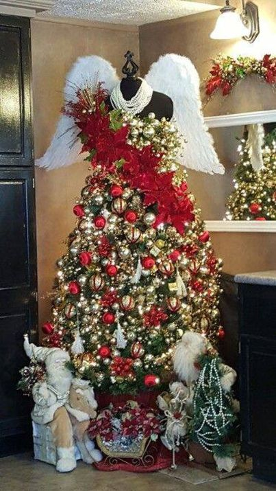 Gorgeous Chirstmas Tree Decorations Ideas 2019 44