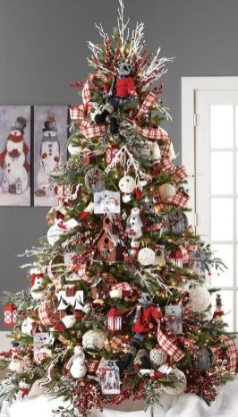 Gorgeous Chirstmas Tree Decorations Ideas 2019 52