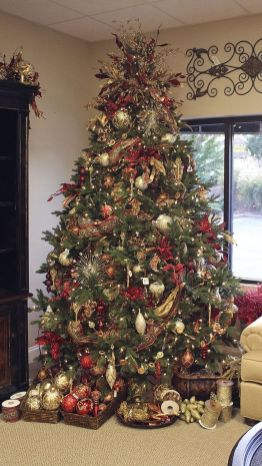 Gorgeous Chirstmas Tree Decorations Ideas 2019 55