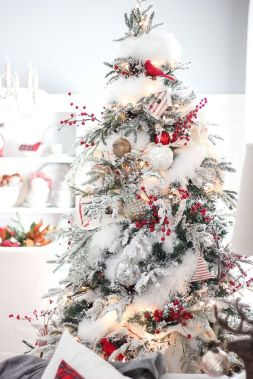 Gorgeous Chirstmas Tree Decorations Ideas 2019 65