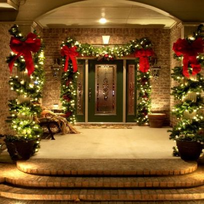 Amazing Christmas Porch Ornament And Decorations 12