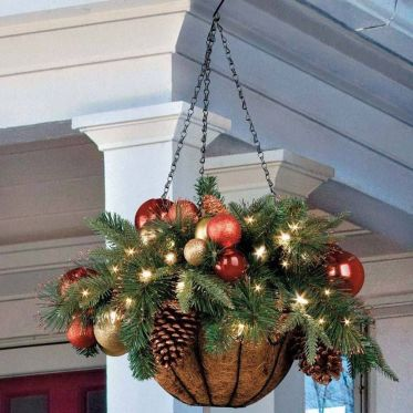 Amazing Christmas Porch Ornament And Decorations 28