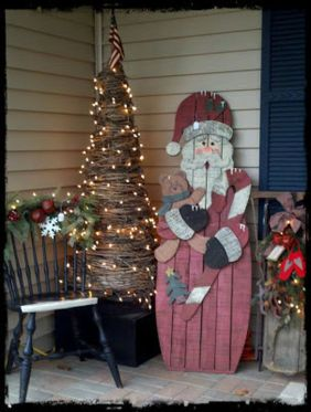 Amazing Christmas Porch Ornament And Decorations 29