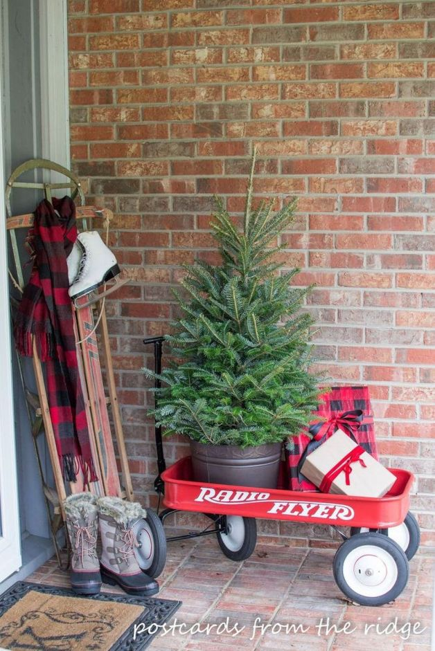 Amazing Christmas Porch Ornament And Decorations 5