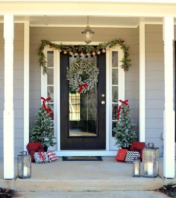 Amazing Christmas Porch Ornament And Decorations 6