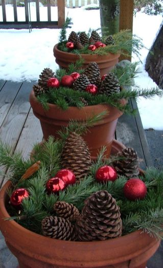 Amazing Christmas Porch Ornament And Decorations 75