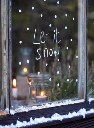 Creative Fake Snow Ideas For Chirstmas Decorations 13