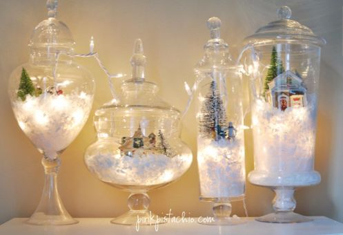 Creative Fake Snow Ideas For Chirstmas Decorations 3