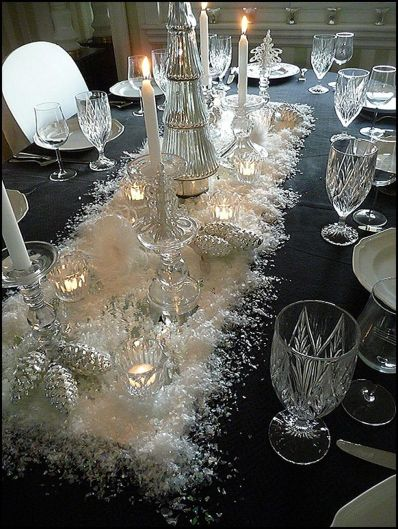 Creative Fake Snow Ideas For Chirstmas Decorations 65