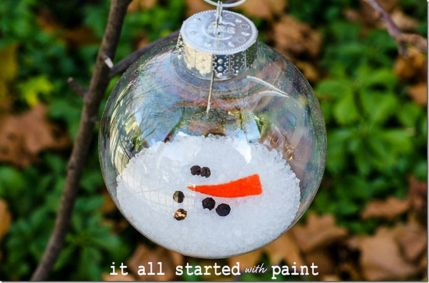Creative Fake Snow Ideas For Chirstmas Decorations 75