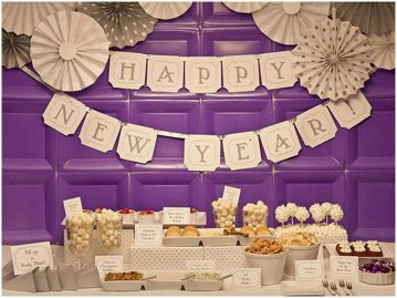 Cheap New Year Eve Decorations Ideas 32