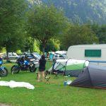 Vue du camping 'Les Domelins' à Beaufort Sur Doron