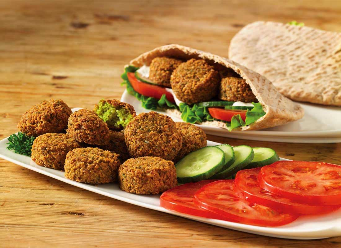 Falafel Patty from Papous Kitchen