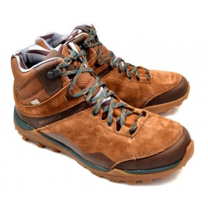 Casual Shoes MERRELL ΑΝΔΡΙΚΟ ΜΠΟΤΑΚΙ FRAXTON MID ΤΑΜΠΑ