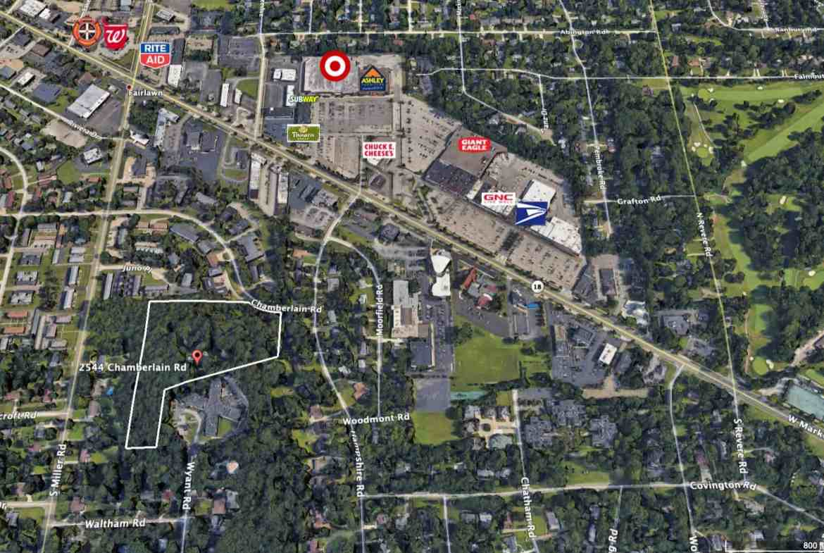Cornus Hill Mansion Site Available For Redevelopment - 7.83 Acres - Call Pappas Realty Co