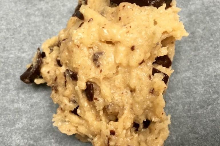Chocolate chip cookies med havsalt og olivenolje