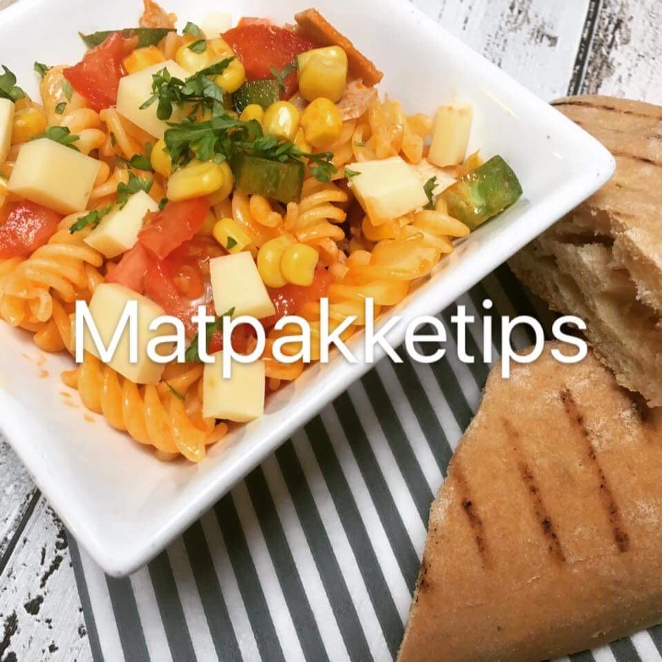 Glutenfri pastasalat i matpakken