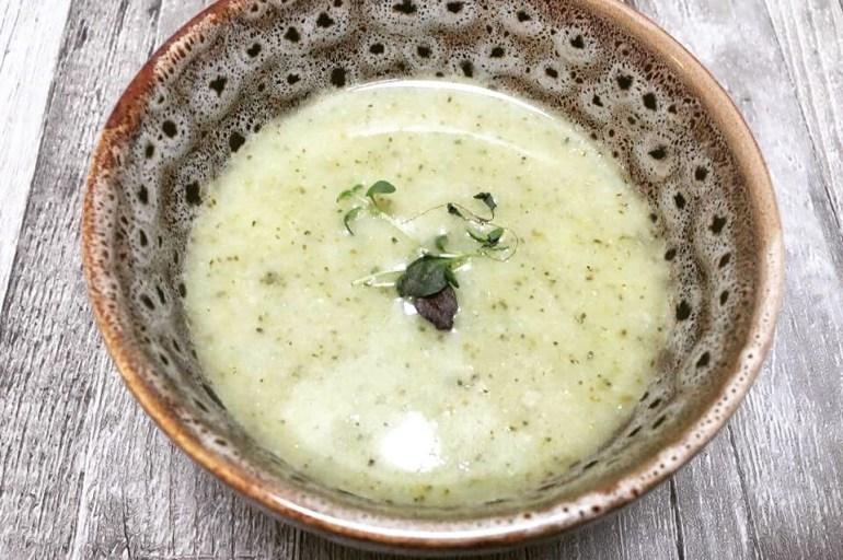 Brokkoli/ blomkålsuppe