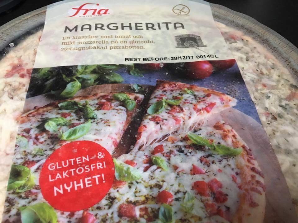 Glutenfri Pizza fra Fria