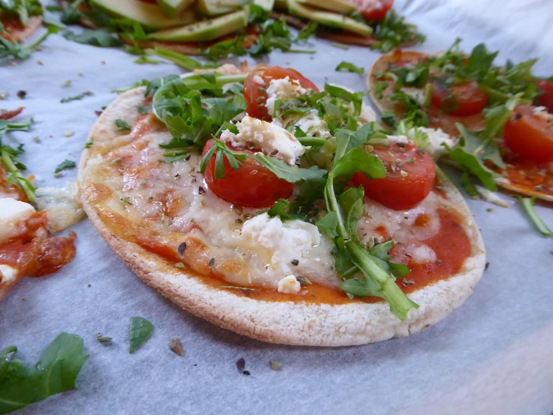 Porsjonspizza til matpakken