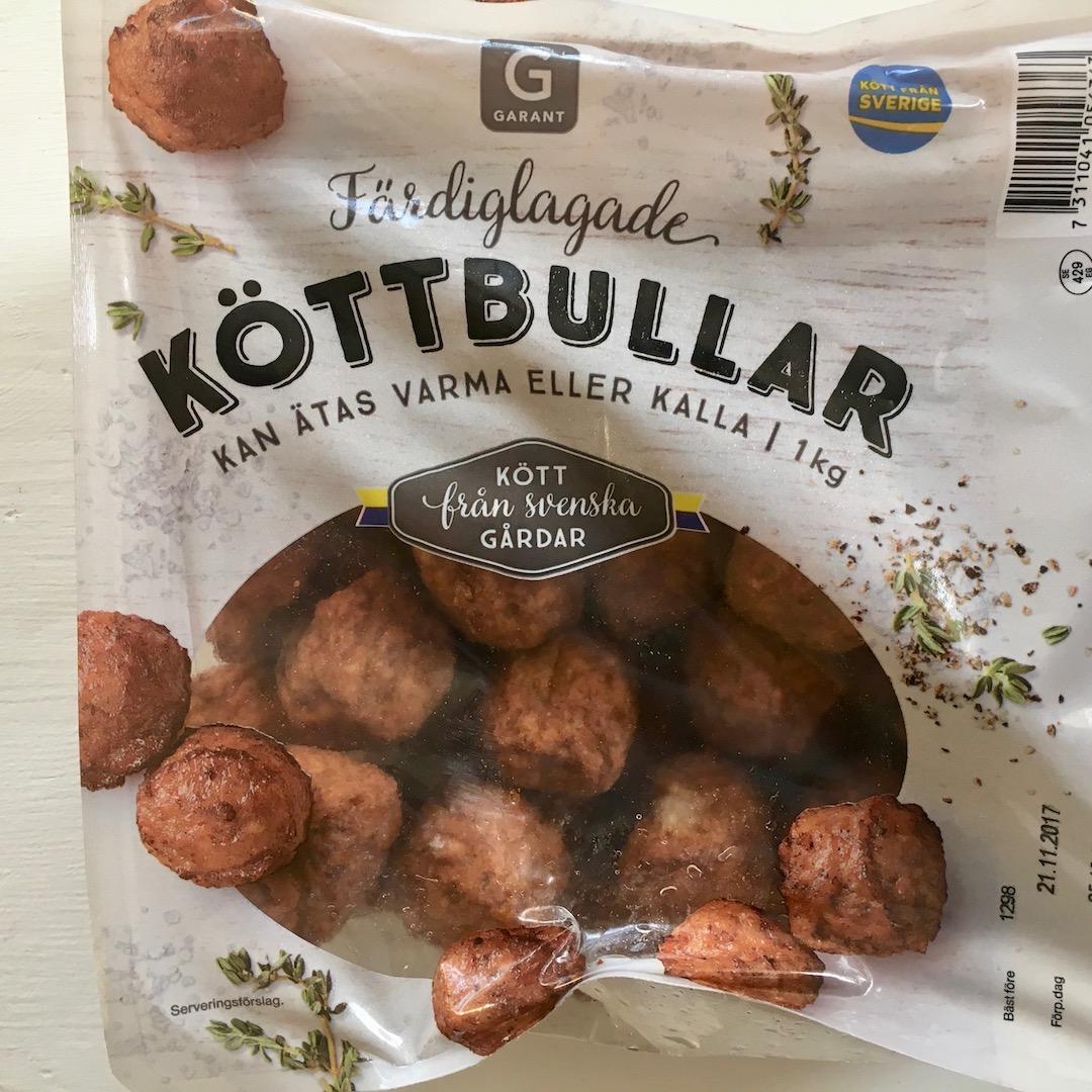glutenfrie kjøttboller