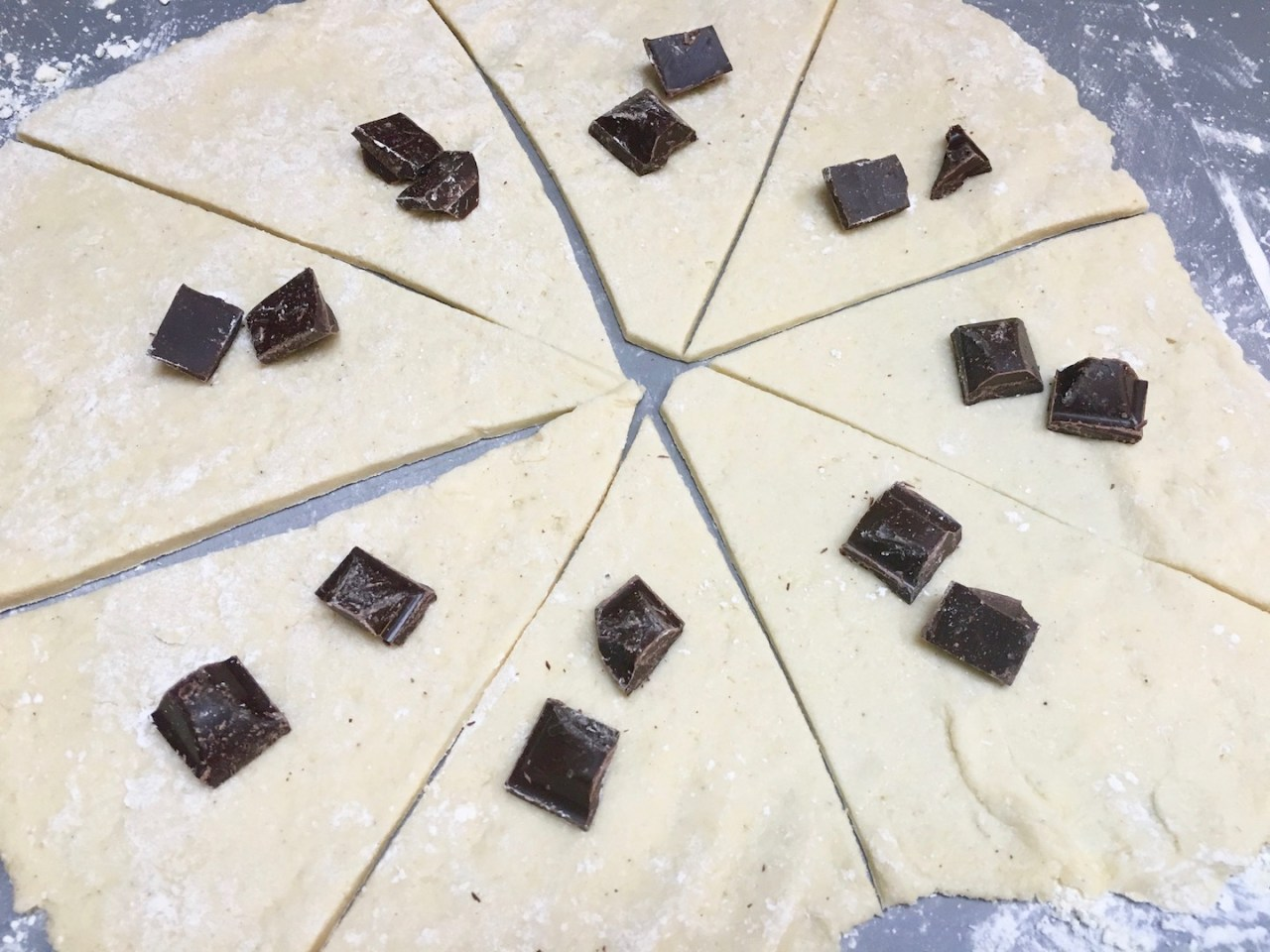 glutenfrie sjokoladehorn