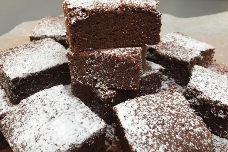 Glutenfri brownie på 1-2-3