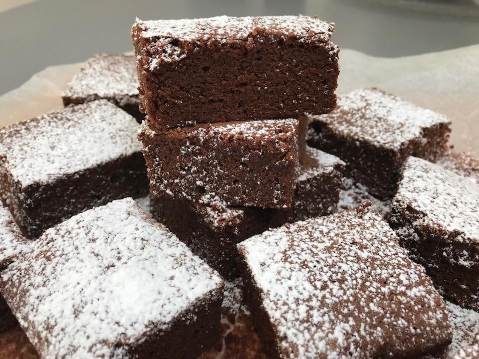 Glutenfrie brownie