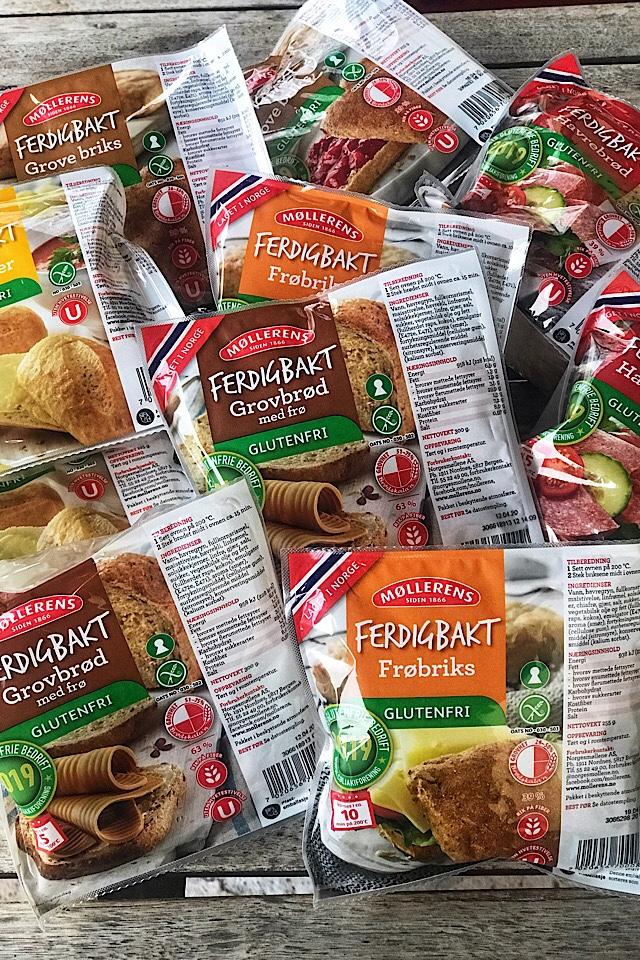Nyhet fra Møllerens. Glutenfrie produkter