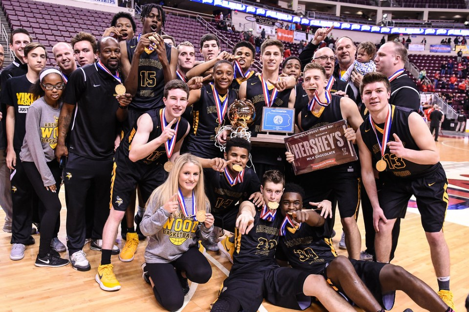 Archbishop Wood rolls Meadville to win first state title